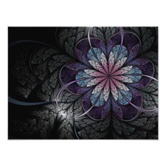 Foto del fractal: Flor de la melancolía