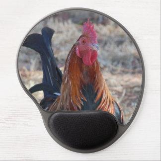 Foto del gallo del juego alfombrilla gel