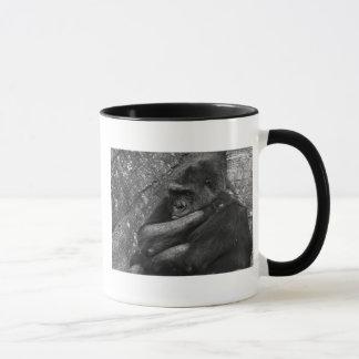 Foto del gorila taza