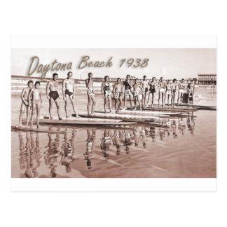 Foto del grupo de la resaca del vintage de Daytona Tarjeta Postal
