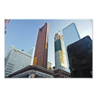 Foto del horizonte de la arquitectura de Toronto Cojinete
