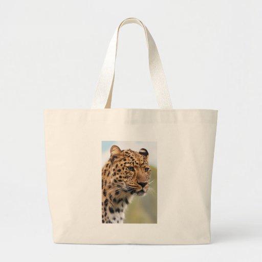 Foto del leopardo bolsas de mano