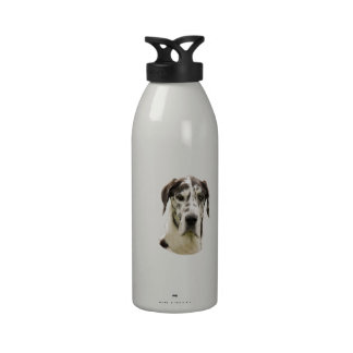 Foto del mascota de Halequin great dane Botella De Agua