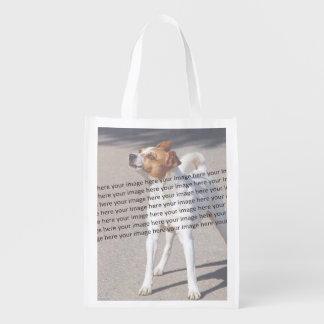 Foto del mascota de la familia bolsas reutilizables