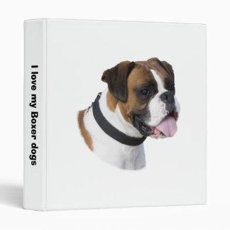 Foto del mascota del perro del boxeador del