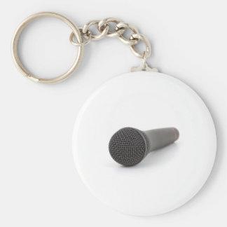 Foto del micrófono llavero redondo tipo pin