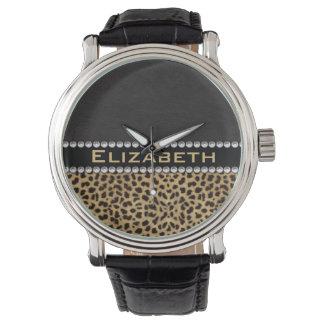 FOTO del monograma de los diamantes del diamante Relojes