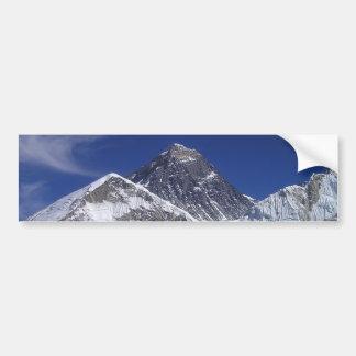 Foto del monte Everest Pegatina De Parachoque