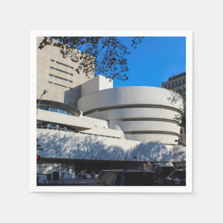 Foto del museo de Guggenheim en New York City Servilleta De Papel