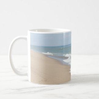 Foto del océano taza de café