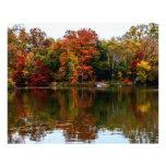 Foto del paisaje de la caída del otoño del Central