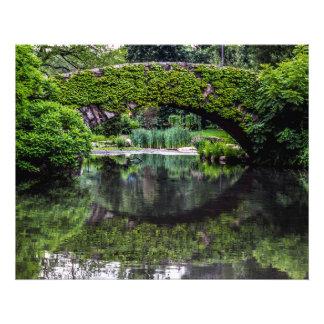 Foto del paisaje del Central Park Cojinete