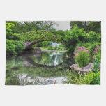 Foto del paisaje del Central Park Toalla