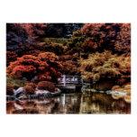 Foto del paisaje del otoño de la caída del parque