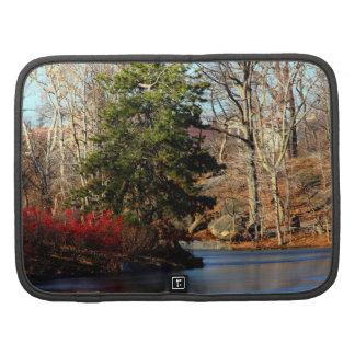 Foto del paisaje del otoño del Central Park Organizador