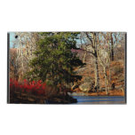 Foto del paisaje del otoño del Central Park iPad Protectores