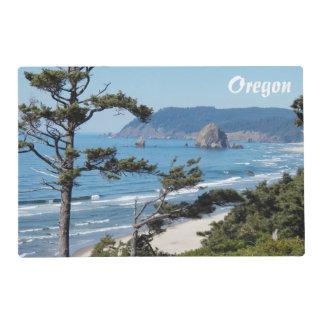 Foto del paisaje marino de Oregon Salvamanteles