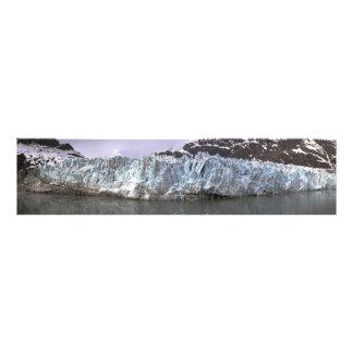 Foto del panorama de Alaska del glaciar de Margeri