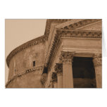 Foto del panteón de Roma Felicitacion