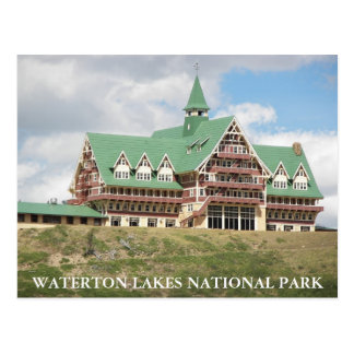 Foto del parque nacional de los lagos Waterton Postal