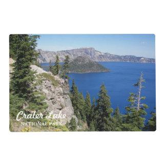 Foto del parque nacional del lago crater salvamanteles