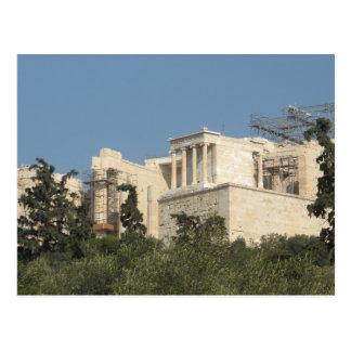 Foto del Parthenon del griego clásico de lejos Postales