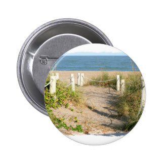 Foto del paseo de cuerda de la duna de la playa de pins