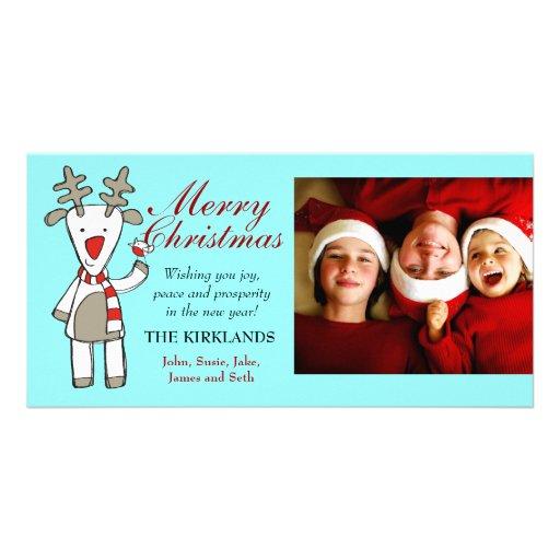 foto del personalizado de las Felices Navidad 311- Tarjeta Fotográfica
