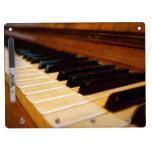 Foto del piano pizarra blanca