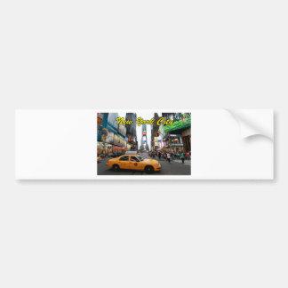 Foto del profesional de New York City Pegatina Para Auto