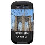 Foto del puente de Brooklyn en NYC Galaxy S3 Cárcasa