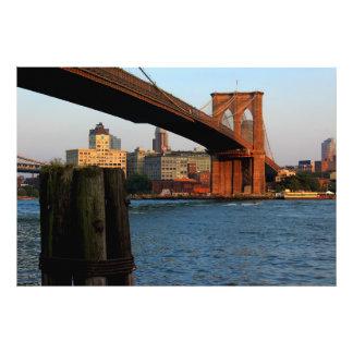 Foto del puente de Brooklyn en NYC
