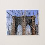 Foto del puente de Brooklyn en NYC Rompecabezas