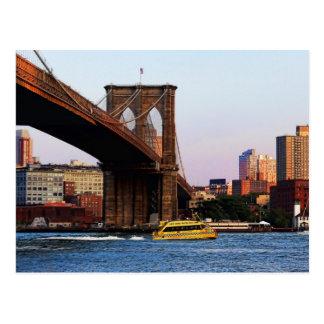 Foto del puente de Brooklyn en NYC Tarjetas Postales