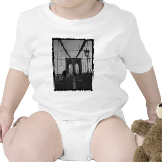 Foto del puente de Brooklyn Traje De Bebé
