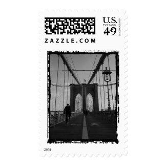 Foto del puente de Brooklyn Sello
