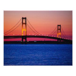 Foto del puente de Mackinac Cojinete