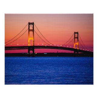 Foto del puente de Mackinac