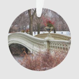 Foto del puente del arco de Central Park