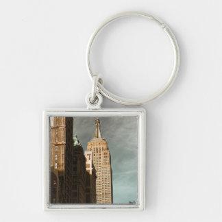 Foto del rascacielos del Empire State Building Llaveros Personalizados