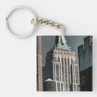 Foto del rascacielos del Empire State Building Llaveros