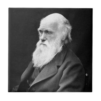 Foto del retrato de Charles Darwin Teja