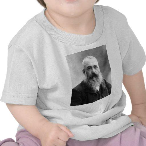 Foto del retrato de Claude Monet Camisetas