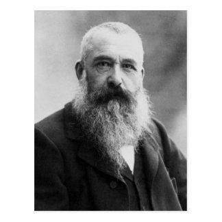 Foto del retrato de Claude Monet Tarjeta Postal