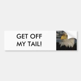 Foto del retrato de Eagle calvo Pegatina Para Auto