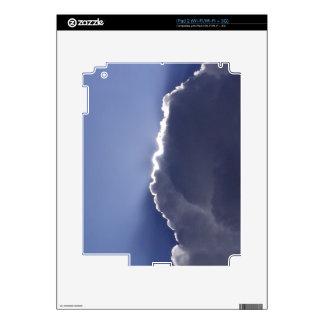 foto del skinwith del iPad 2 de la nube con el iPad 2 Skins