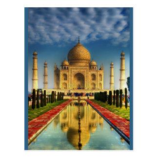 Foto del Taj Mahal Tarjeta Postal