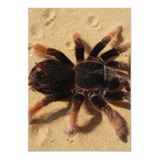 Foto del Tarantula Invitacion Personalizada