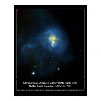 Foto del telescopio de Hubble de la galaxia de Inf Impresiones