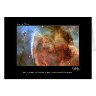 Foto del telescopio de Hubble de la nebulosa del o Tarjeton